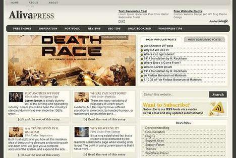 Alivapress Free WordPress Theme