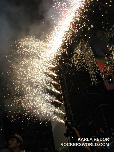 Fireworks at the Eraserheads Live: The Final Set