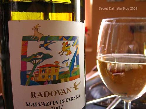 Malvazija Radovan 2007. Not bad. Not bad, at all!