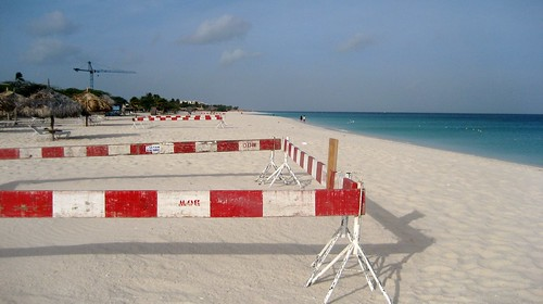 Eagle Beach Barricades