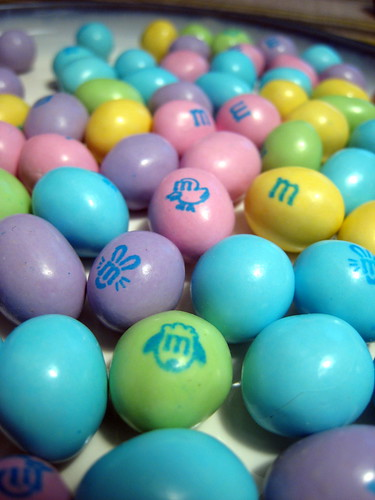 The Bunny Mix of Easter M&Ms