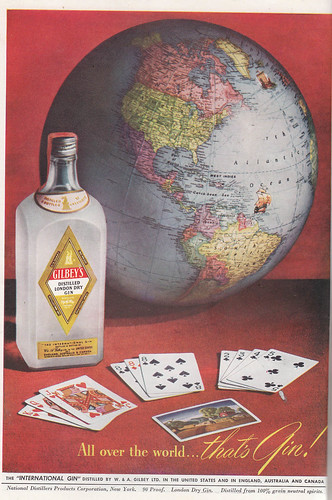 Vintage Gilbey's ad by Be the HBIC.
