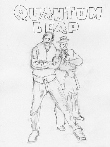 Quantum Leap - pencil sketch