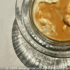 Caramelcreme, Rahm, Fertig