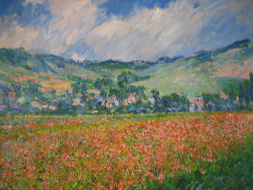Monet...Champ de coquelicots, environs de Giverny (Poppy Field at Giverny) 1885 อยากไปจิแวคนี่ๆๆๆ แต่รูปนี้ไม่บอกไม่รู้จิงๆว่าโมเน่ต์