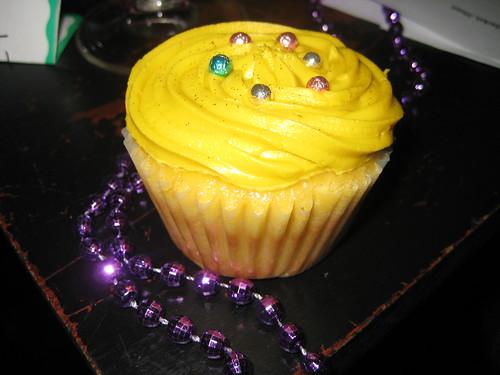 Mardi Gras Cupcake Meetup