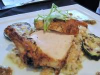 la pietra cucina - roasted chicken close up
