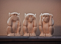 Speak No Evil, Hear No Evil, See No Evil