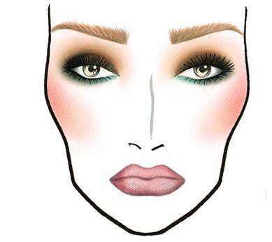 MAC Face Chart Example