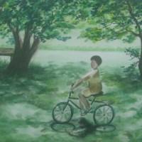 水彩風景畫_蔡老師與同學們