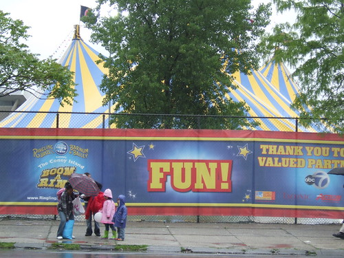 Through Sept. 7: Ringling Bros.Coney Island Boom A Ring Circus. Photo by rbbbconeyisland via flickr