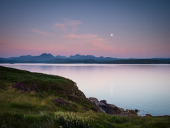 "Moonrise over the Torridon Mountains II • <a style=""font-size:0.8em;"" href=""http://www.flickr.com/photos/26440756@N06/9344620153/"" target=""_blank"">View on Flickr</a>"
