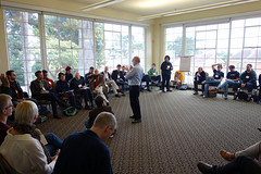 Kevin Kelly leads a discussion on the future of QS