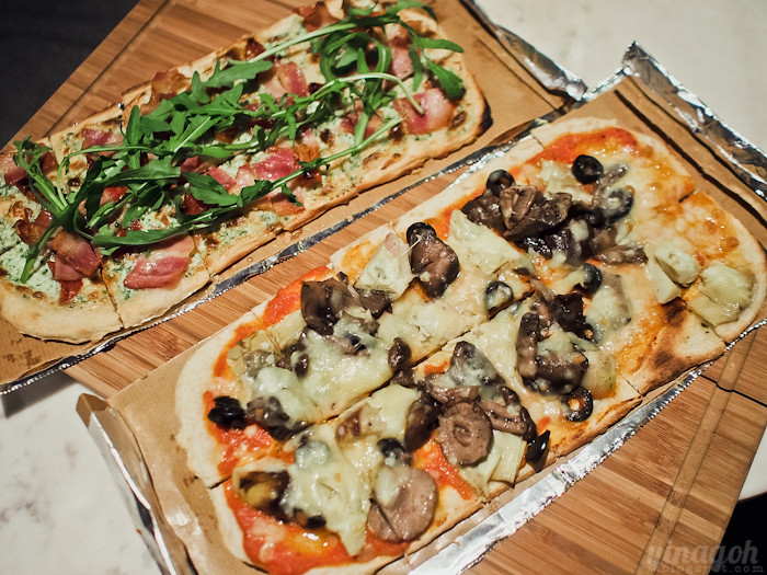 Skyve Wine Bistro Pizza Slabs