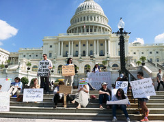Federal Workers Protest Government Shutdown