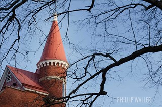 Ventress Spire through the Trees @ Ole Miss