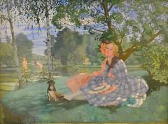 Summer, Konstantin Somov, 1919