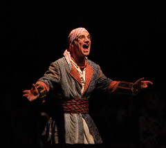 Michael Nostrand as Smee in Peter Pan, produced by Music Circus at the Wells Fargo Pavilion July 21-26, 2015. Photo by Charr Crail.