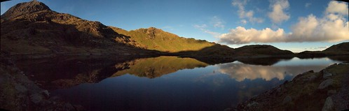 Reflections in Llyn Llydaw