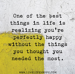 One of the best things in life is realizing yo...