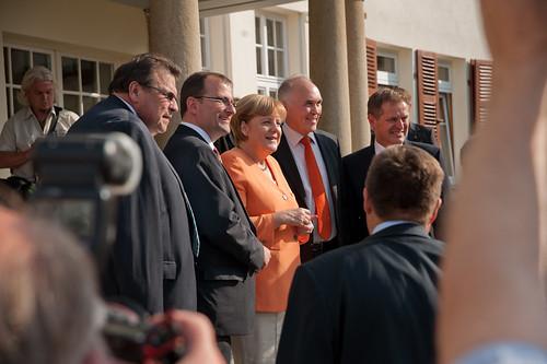 Angela Merkel im Christlichen Gästezentrum Sch...