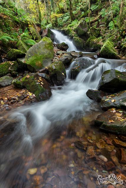 East Water Valley Falls, Exmoor