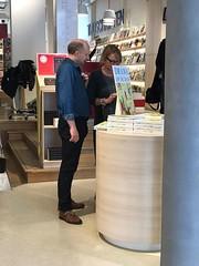 Norbert en Ludmilla bij Scheltema