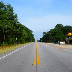 The Road Ahead. Day 67. Rt. 280 in Pembroke, GA. Wish I could take a pictures of these No-See-Ums for everyone. These little vampires are everywhere. #TheWorldWalk #travel #Georgia #wwtheroadahead
