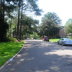 The Road Ahead. Day 85. Highfield Drive in Montgomery, AL. Had a great day yesterday with Avery and the Fleet Feet crew. Gonna head to downtown Montgomery to take in some history, see where Rosa Parks took her stand. #TheWorldWalk #travel #wwtheroadahead