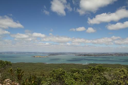 Aussicht von Rangitoto