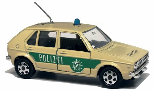 Mebetoys VW Golf Polizei