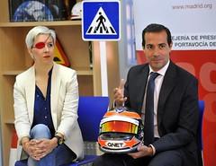 Jornadas sobre Seguridad Vial con María de Villota