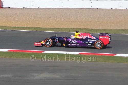 Daniel Ricciardo in Free Practice 1 for the 2015 British Grand Prix at Silverstone
