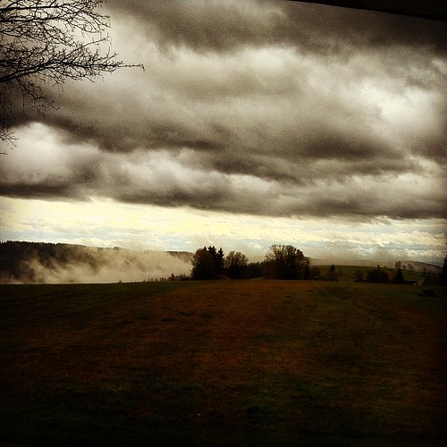 Wolkenfetzen über'n Wald #Urberg
