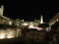 Tower of David before the Night Spectacular