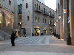 Mamilla Mall on Shavuot eve