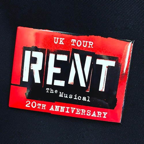 Today is all about...Rent the Musical