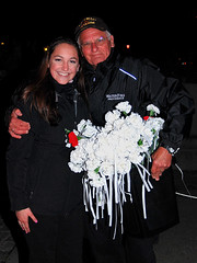 Guest Dock Coordinators with Carnations