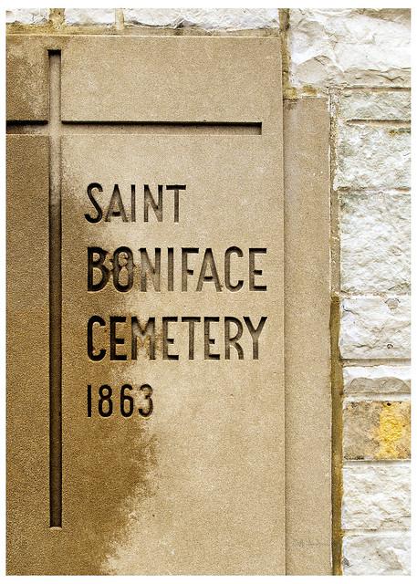 Saint Boniface Cemetery 1863