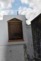 Blanchard cemetery plaque
