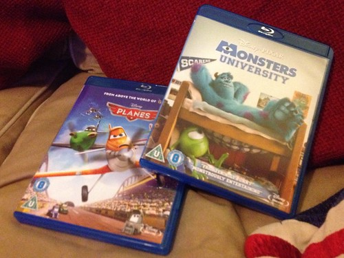 Today is all about...Disney/Pixar night
