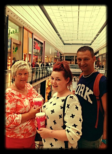 Today is all about...shopping with the family