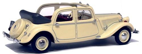 Norev Citroën 15 decouvrable EDM 1949
