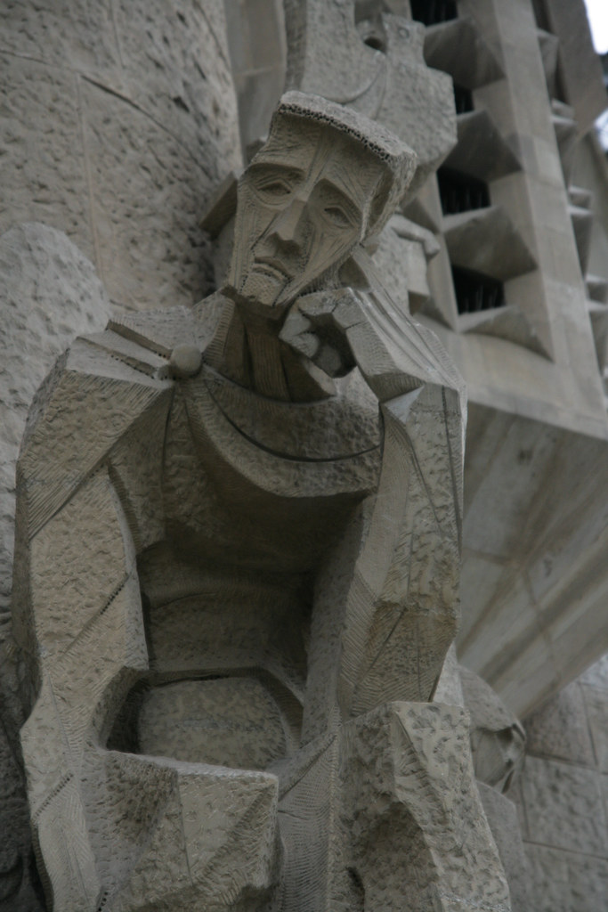 Le penseur (Sagrada Familia)
