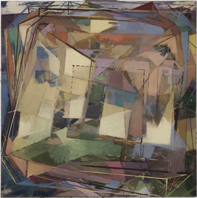 Tagai, 120 x120cm, Eitempera/Öl auf Nessel, 2013