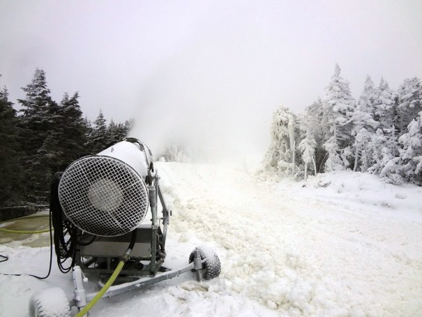 Saddleback Resort Snow Gun