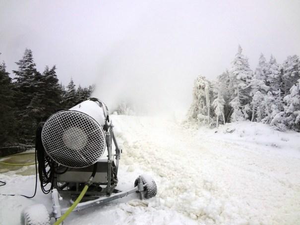 Saddleback Resort Snow Gun