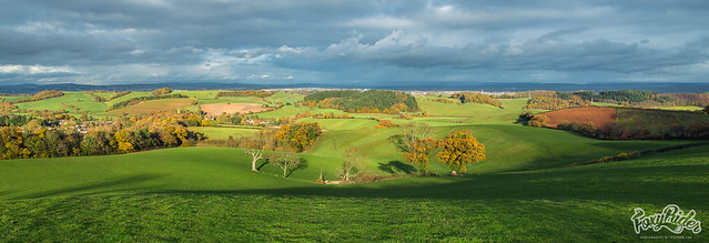 Kenn View over Exeter