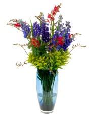 Summer Flowers — Leanne and David Kesler, Floral Design Institute, Inc., in Portland, Ore.