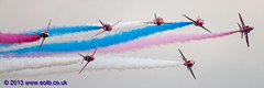 The Red Arrows Display Team